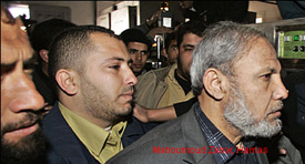 Mahmoud Zahar of Hamas