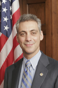Rep. Rahm Emmanuel, President-elect Barack Obama\'s Chief of Staff