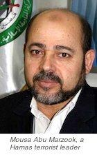 Mousa abu Marzook, Hamas terrorist group figurehead