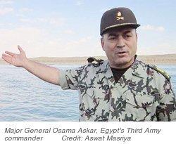 Maj. General Osama Askar, Egypt's 3rd Army Commander